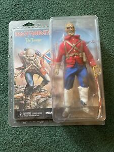 "Iron Maiden Eddie The Trooper 8"" Neca Action Figure NEW SEALED !!!!"