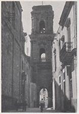 D4197 Brindisi - Via delle Colonne - Stampa d'epoca - 1942 vintage print