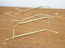 "Lot of 2  Wire Display Easel Plate Hangers 3"" - 5""  & 3 1/2"" x 7"""