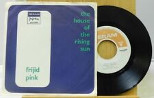 Frijid Pink 45 w slick House Of Rising Sun bw Drivin Blues Deram VG++ Yugoslavia