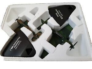 Junkers JU 87B & Hawker Hurricane Mk I 1940 Duelling Fighters Atlas 1/72