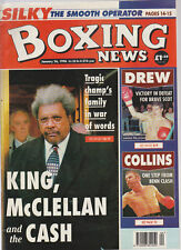 Vintage Boxing News, Jan 96, McClellan Family v Don king