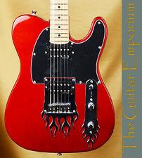 iFusion® Tributer® Metal Guitar - Korean Wilkinson® Humbuckers - Fire