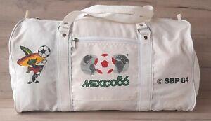 MEXICO 1986 World Cup CALANDA BRAU SBP 1984 Vintage Sport Bag