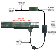 External Laptop Battery Charger for Gateway MA6 MA7 MA8 MX67xx MX69xx, SQU-412
