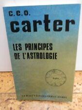 """ésotérisme Astrologie """"Les principes de l'Astrologie"""" par C.E.O. Carter"""