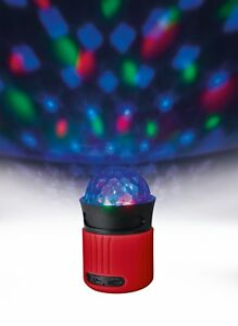 Trust Urban Dixxo Go Bluetooth Wireless Speaker With Part Disco Light Red