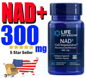 NAD+ Nicotinamide Riboside 300mg 💕 LIFE EXTENSION Cell Regenerator ⭐️ NIAGEN ⭐️