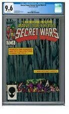 Marvel Super Heroes Secret Wars #4 (1984) Bob Layton Cover CGC 9.6 N922