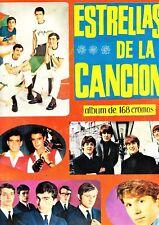 ESTRELLAS DE LA CANCIÓN. U.D.E., 1966 Album cromos completo THE BEATLES, BRINCOS