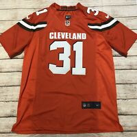 NiKe Cleveland Browns Nfl Authentic  Jersey Chubb #31 Size M Orange