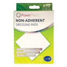 Non-adherent Dressing Pads - 10 Pack, Plasters Durable, First Aid Medicine UK