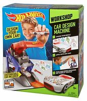 Hot Wheels Car Design Machine Mattel Ages 5+ Graphic Race Track Boys Girls Gift