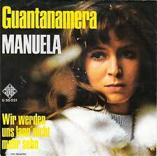 Manuela-GUANTANAMERA-Single 1968 D-TELEFUNKEN U 56031