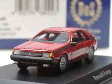 BOS Renault Fuego, 1980, rot - 87525 - 1:87