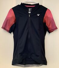 Bontrager Merja Fitted Women's M Cycling Bike Jersey Full Zip Short sleeve Black