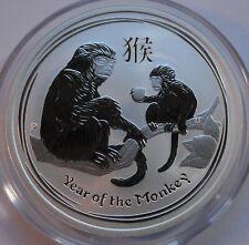 Original 2016 Australia 50 cents Lunar 1/2 oz .999 silver Year of Monkey