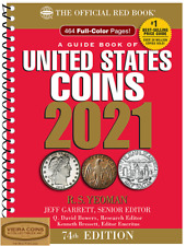 2021 RED BOOK  PRICE GUIDE U.S COINS,SPIRAL