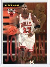MICHAEL JORDAN 1995-96 FLEER #323