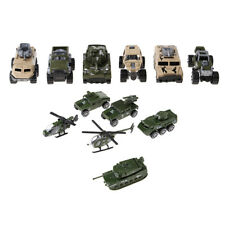 Military Car Truck Helicopter Die Cast Toy Fire Engines Kids Party Favors