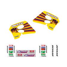 adesivi grafiche Suzuki Rm 125 250 1993 1994 1995 kit completo Team 1993 cross