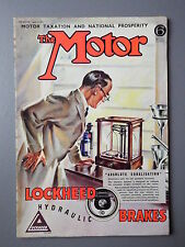 R&L WW2 Vintage Mag: The Motor 1941 April 16, Hill Climbing/Motorhome (1 page)