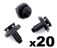 20x 7mm Radiator Cover Clips for Toyota Avensis- Engine Cover Trim Clips