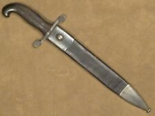 Spanish Bolo Knife Machete Artillery Short Sword Model 1907 w Scabbard Very Nice