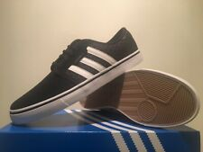 Adidas Seeley Skateboard Shoes  (  Black ) Shoes Men size  9  NIB