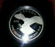 2014 $50 FINE SILVER COIN PEREGRINE FALCON PROOF 1oz ounce