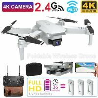 4K HD Foldable 2.4G Wireless WiFi Aerial Drone X FPV Selfie RC Drone Quadcopters