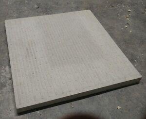 Square edge non-slip utility Paving slabs - 2ft, 600mm x 600mm, various colours