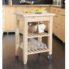 IKEA Holz Birke Abräumwagen Servierwagen Regalwaagen Küchenwagen Tisch NEU+OVP