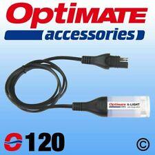 OptiMate O120 SAE Flashlight and Battery Check Lead