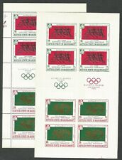 SOUTH ARABIA-- Olympics: 8 MNH-F-VF, perf/imperf sheets-8