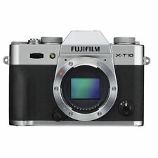 Near Mint! Fujifilm X-T10 16.3 MP Digital Camera Body Silver - 1 year warranty