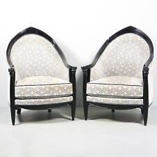 2 x Jugendstil Art Deco Sessel Bergère Lounge Chair 1.Z