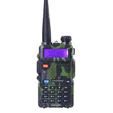 Baofeng UV-5R 5W Walkie Talkies VHF UHF Dual Band Ham Two-Way Radios Transceiver