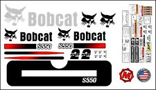 S550 replacement premium decal kit sticker set with warning decals fits bobcat