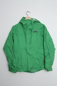 Patagonia Womens Rain Jacket Windbreaker Torrentshell Green Small Not Waterproof