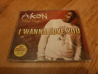 CD Single: Akon : I Wanna Love You  :  Featuring Snoop Dogg