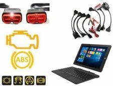 """KFZ Multi Diagnosegerät alle PKW + 10"""" Tablet OBD2 Fehlerauslesegerät Bluetooth"""