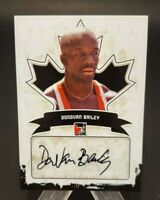 2011 In The Game Canadiana Autographs #A-DB1 Donovan Bailey