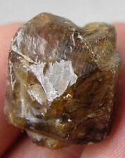 #13 59.25ct Cambodia Natural Rough Smokey Brown Zircon Crystal Specimen 11.85g