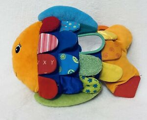 Melissa And Doug K's Kids Fish Tag Plush 12""