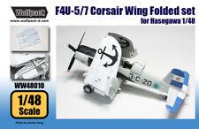 Wolfpack WW48010, F4U-5/7, AU-1 Corsair Wing Folded set (for Hasegawa,SCALE 1/48
