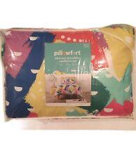 Pillowfort Abstract Multi-Color Microfiber Comforter Set