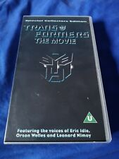 Transformers The Movie (1986 animated film) Special Edition VHS Video