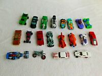 "LOT from 1984 to 2014 MATTEL HOT WHEELS 2.5"" to 3"" CARS TOYS some Red Lines"