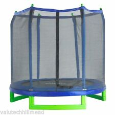 Upper Bounce 7' Trampoline with Safety Enclosure